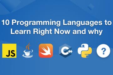 أفضل 10 لغات برمجة للتعلم في عام 2019 - ويب لينك اس لتصميم المواقع