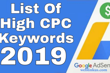 The highest CPC keywords