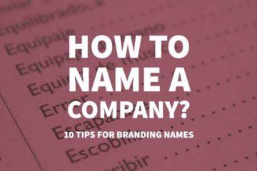 10 نصائح لتسمية شركتك